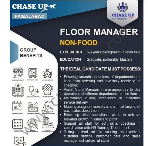 Shopping mall jobs, chase up jobs 2021